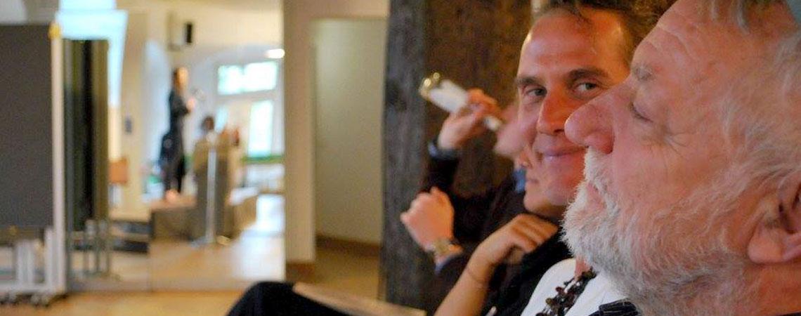Simon Neitzel (l.) und Dieter Koschek